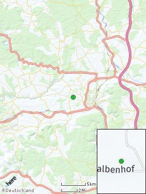 Here Map of Hüttenhöfe