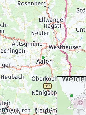 Here Map of Weidenfeld