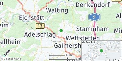 Google Map of Hitzhofen