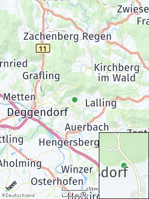 Here Map of Schaufling