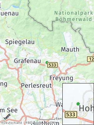 Here Map of Hohenau