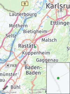 Here Map of Rauental