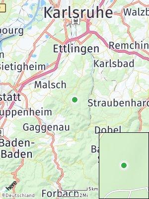 Here Map of Mittelberg