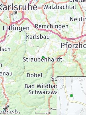 Here Map of Straubenhardt