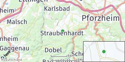Google Map of Straubenhardt