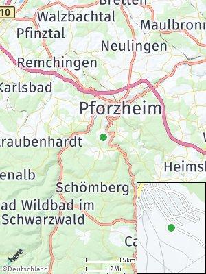 Here Map of Büchenbronn