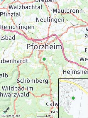 Here Map of Huchenfeld