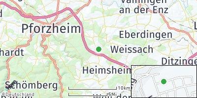 Google Map of Wimsheim