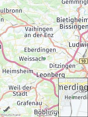 Here Map of Heimerdingen