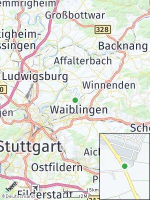 Here Map of Hegnach