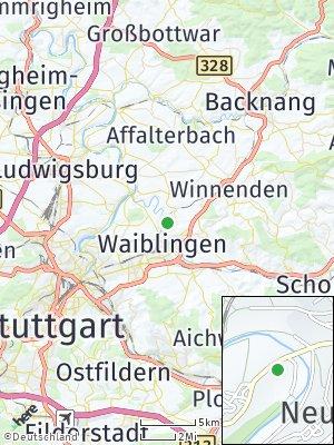 Here Map of Kleinhegnach