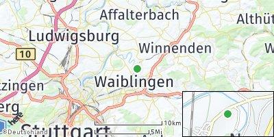 Google Map of Kleinhegnach