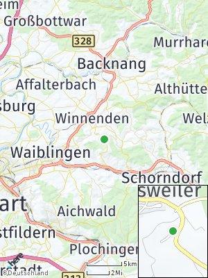 Here Map of Breuningsweiler