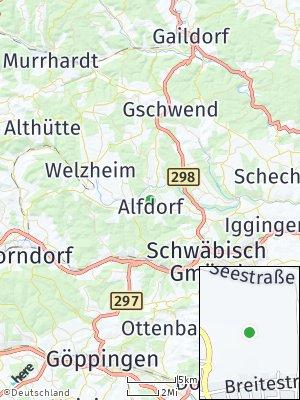 Here Map of Alfdorf