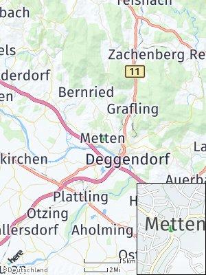 Here Map of Metten
