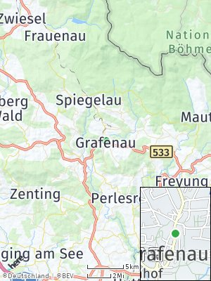 Here Map of Grafenau