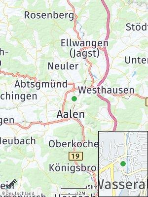 Here Map of Wasseralfingen
