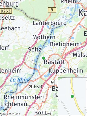 Here Map of Ottersdorf