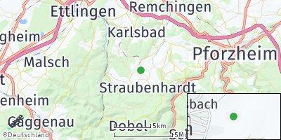 Google Map of Ittersbach