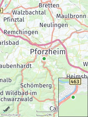 Here Map of Dillweißenstein
