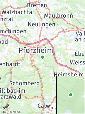 Here Map of Würm