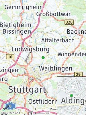 Here Map of Aldingen