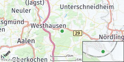 Google Map of Lauchheim