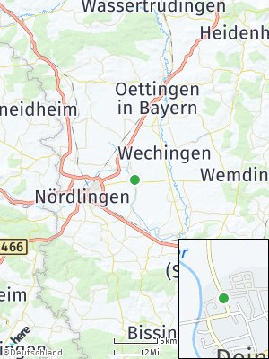 Here Map of Deiningen