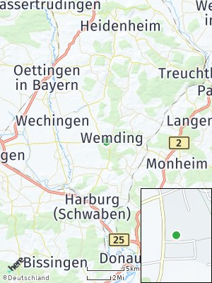 Here Map of Wemding