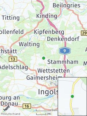 Here Map of Böhmfeld