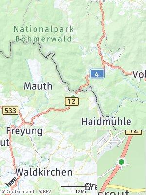 Here Map of Philippsreut