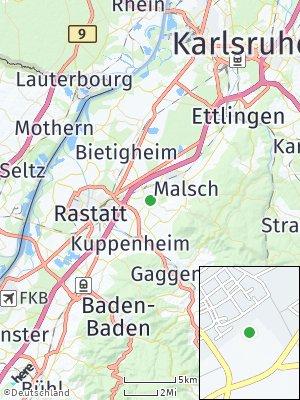 Here Map of Muggensturm