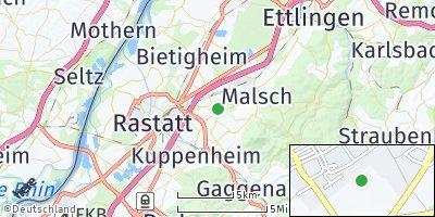 Google Map of Muggensturm