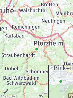 Here Map of Birkenfeld