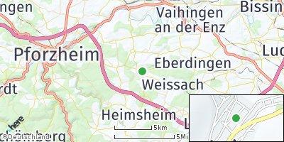 Google Map of Mönsheim