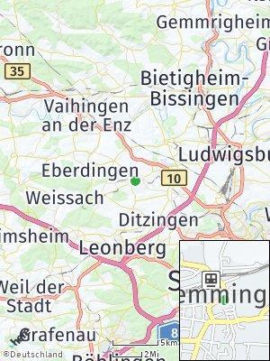 Here Map of Hemmingen