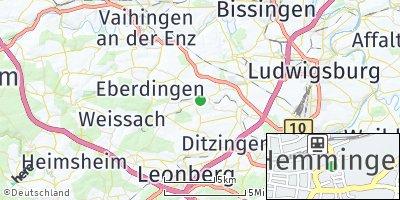 Google Map of Hemmingen