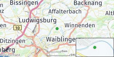 Google Map of Remseck am Neckar