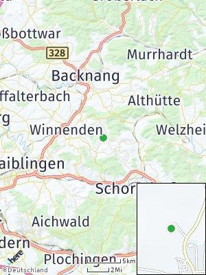 Here Map of Berglen