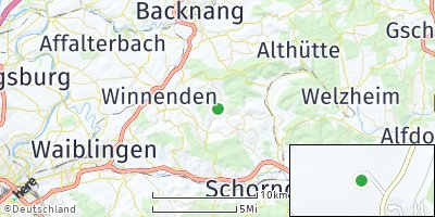 Google Map of Berglen