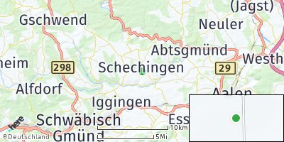 Google Map of Schechingen
