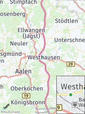 Here Map of Westhausen