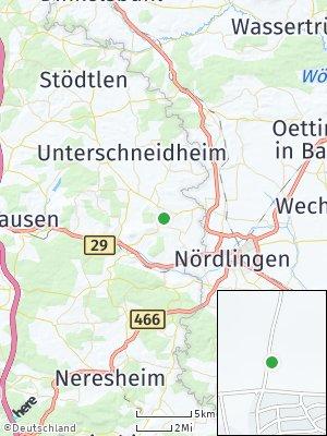 Here Map of Kirchheim am Ries