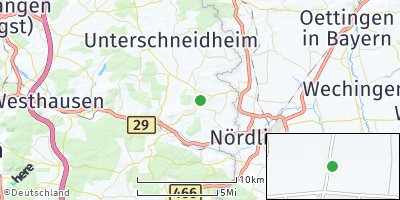 Google Map of Kirchheim am Ries