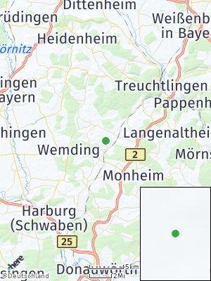 Here Map of Otting bei Donauwörth