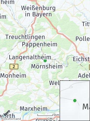 Here Map of Mörnsheim