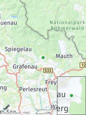 Here Map of Neuschönau