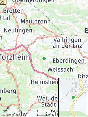 Here Map of Wiernsheim