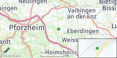 Google Map of Wiernsheim