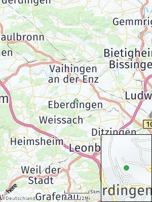 Here Map of Eberdingen